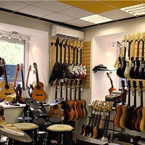 Музыкальные магазины Львовского